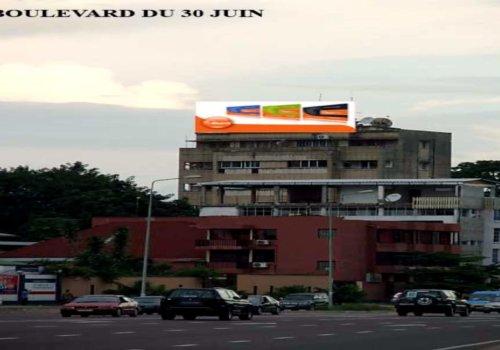 """Panneaux Publicitaires """" Roof Sign ou Panneau sur toiture (Dim:3,5x15m)"""""""